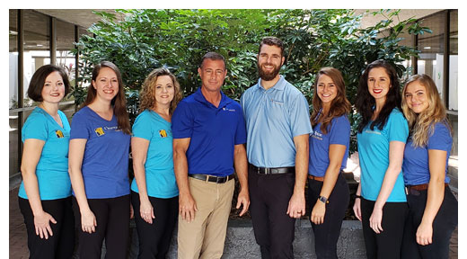 Staff at Clearwater Spine & Rehabilitation in Clearwater, FL