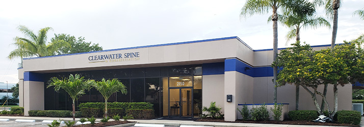 Chiropractor Clearwater FL Office Building
